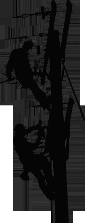 jpg transparent download Silhouette at getdrawings com. Lineman svg