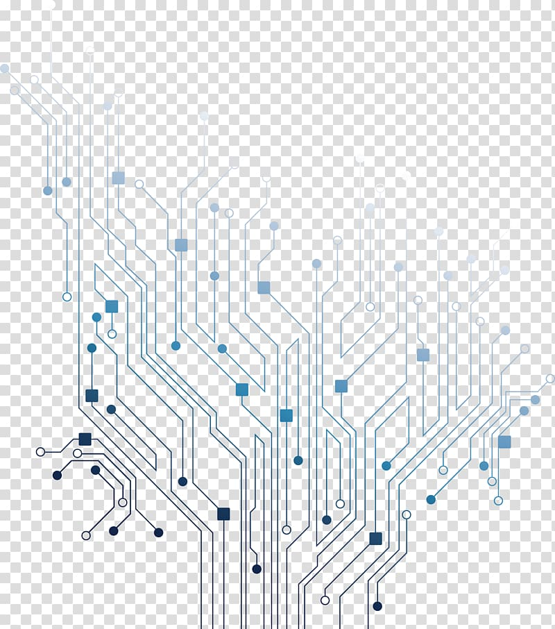 stock Printed board electrical network. Lines clipart circuit.