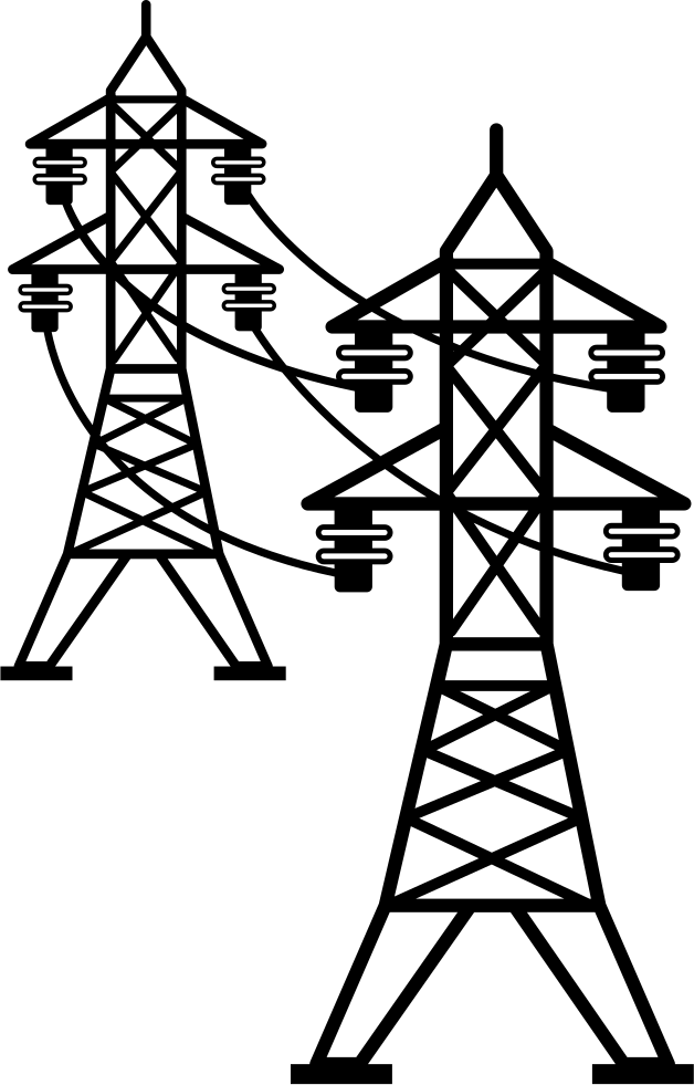 svg free Power line transparent free. Lines clipart telegraph.
