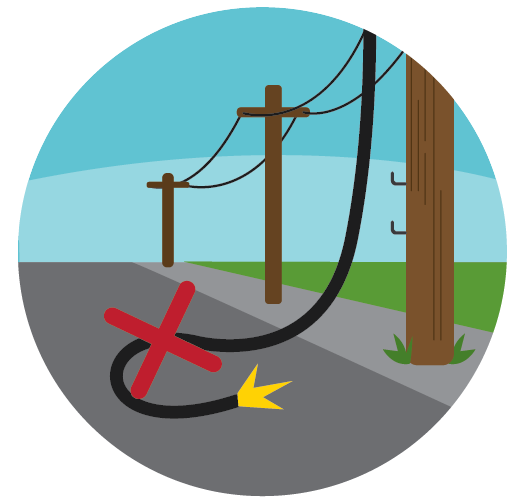 banner Lines clipart telegraph. Power line electric post.