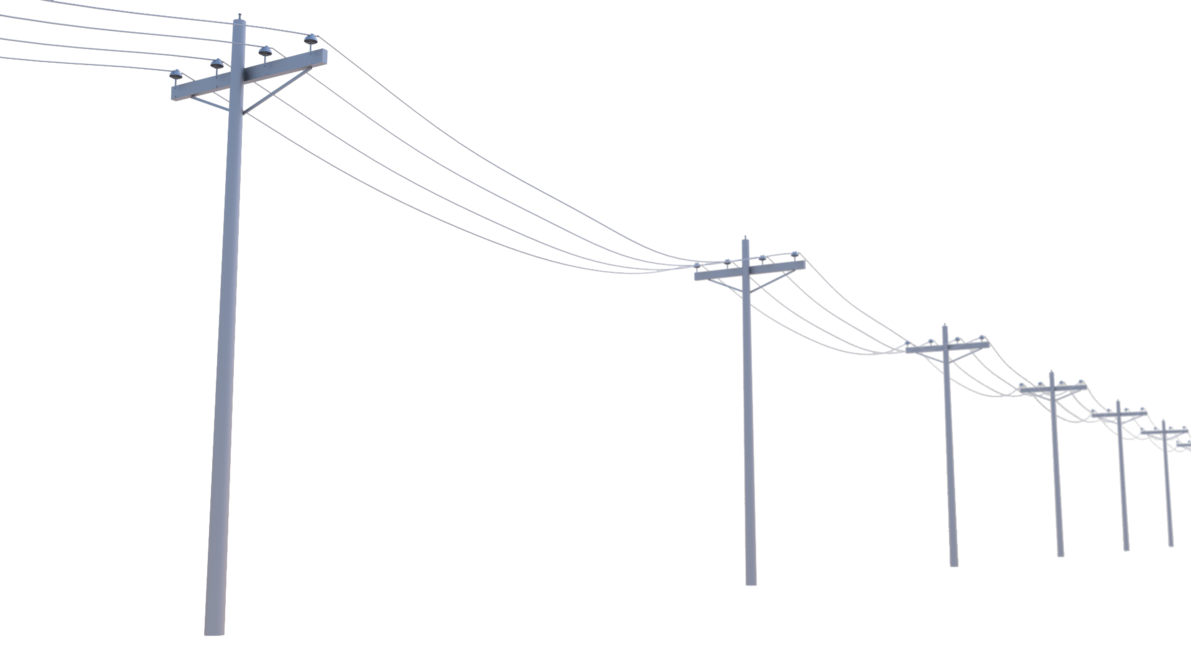 jpg transparent download Utility poles by regusmartin. Lines clipart telegraph.