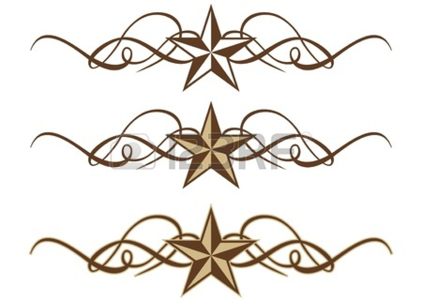 clip royalty free stock Scroll line download best. Free western clipart