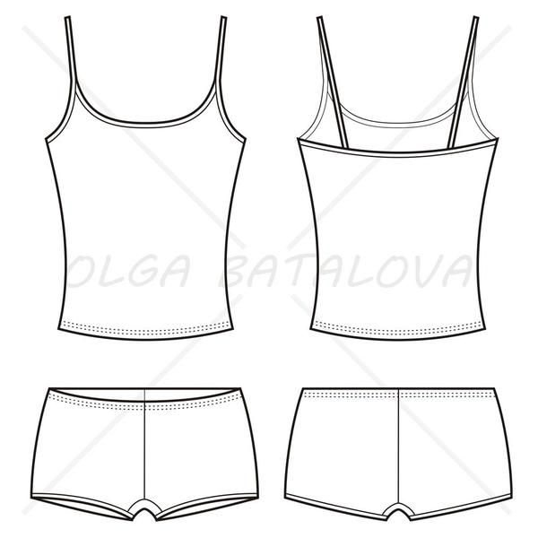 banner black and white Pin on sewing . Lingerie clipart undershirt.