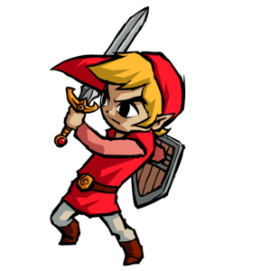 image royalty free stock Link Zelda Red Mini