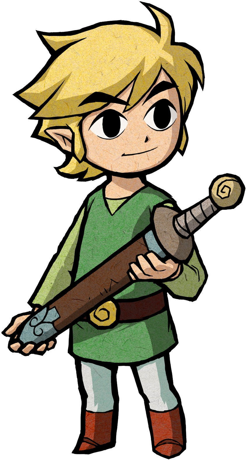 clip art library library Legend Of Zelda Wind Waker Link free image