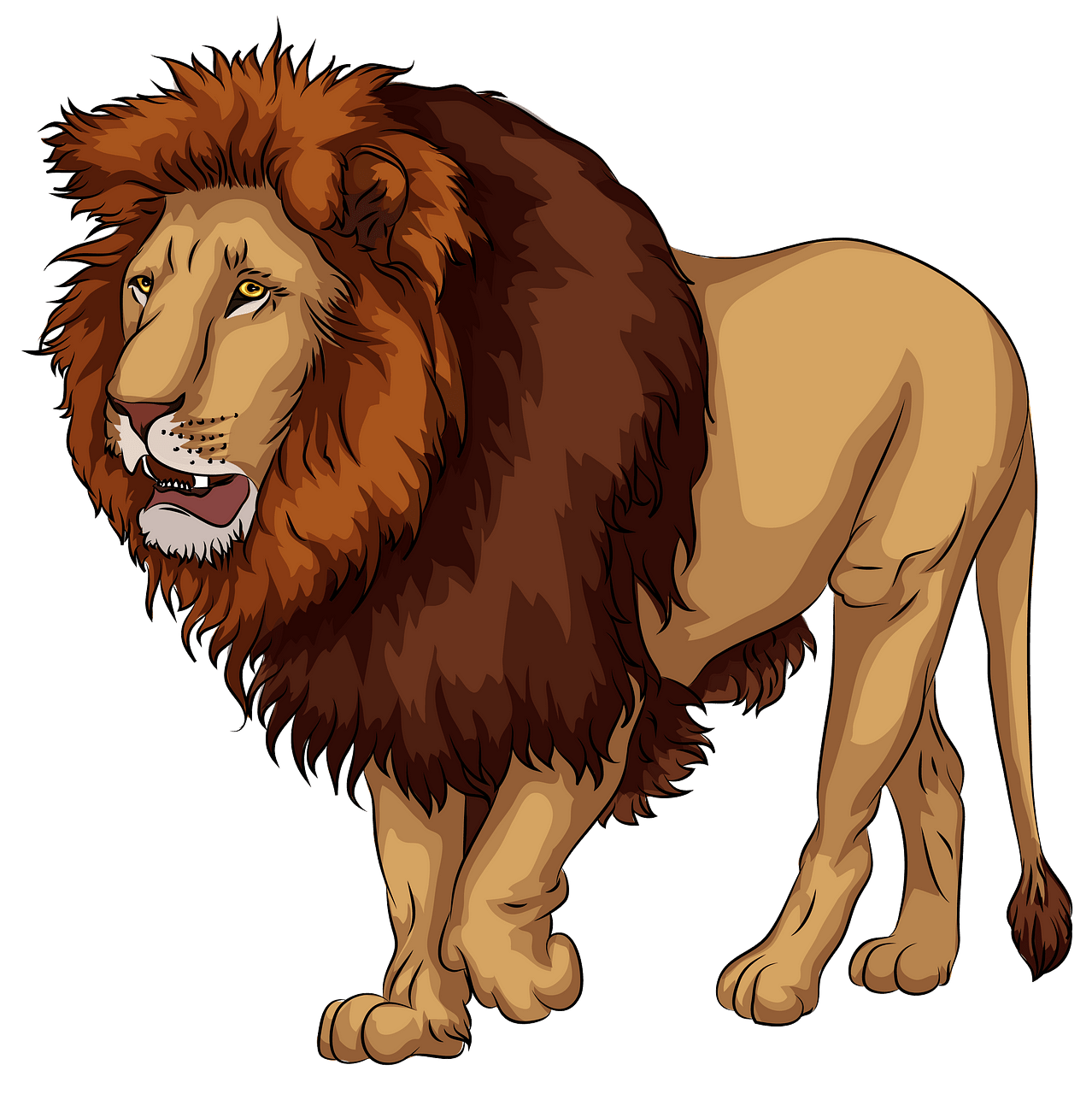 png library stock Lion clipart. African free download creazilla.