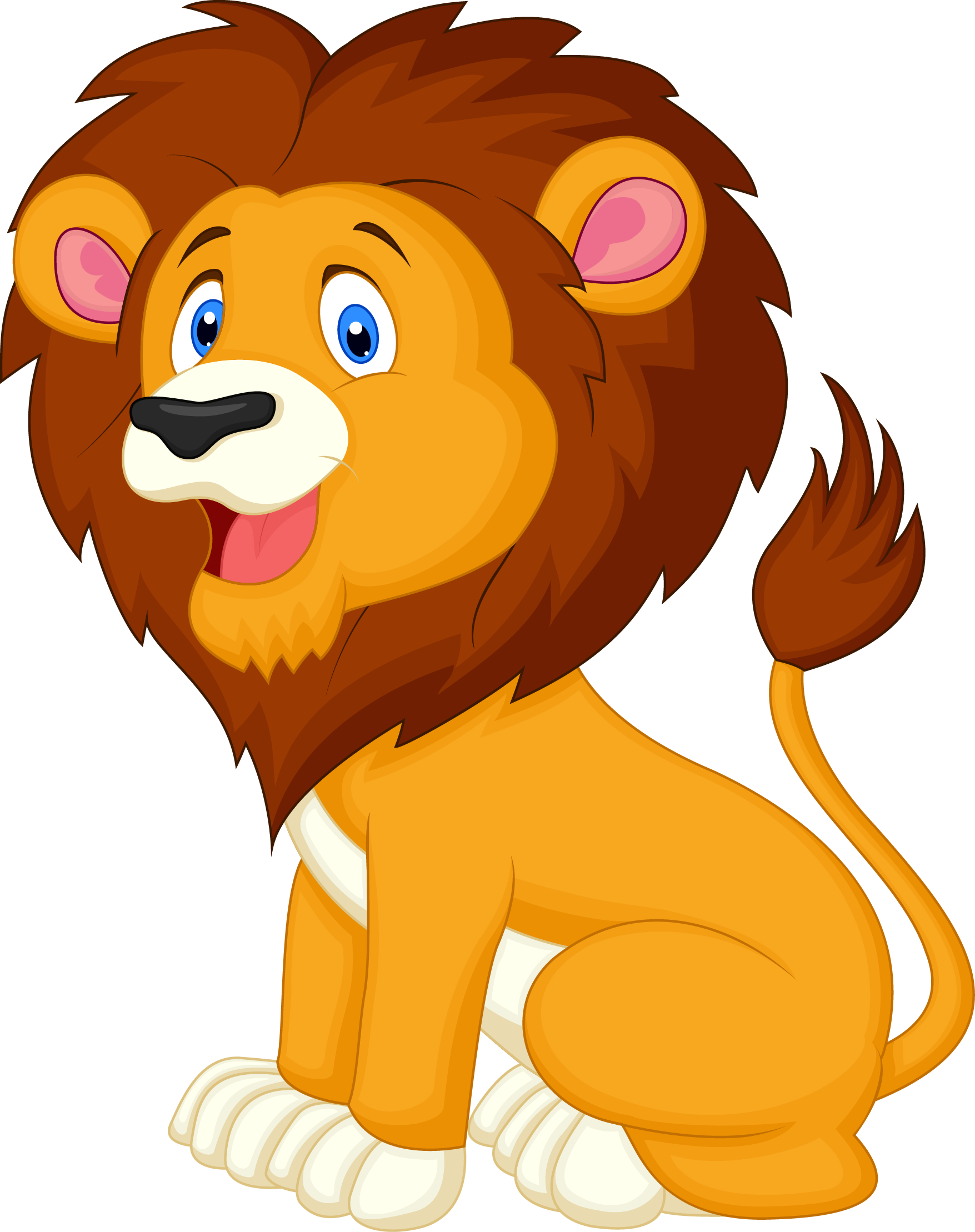 picture royalty free download For download free images. Lion clipart.