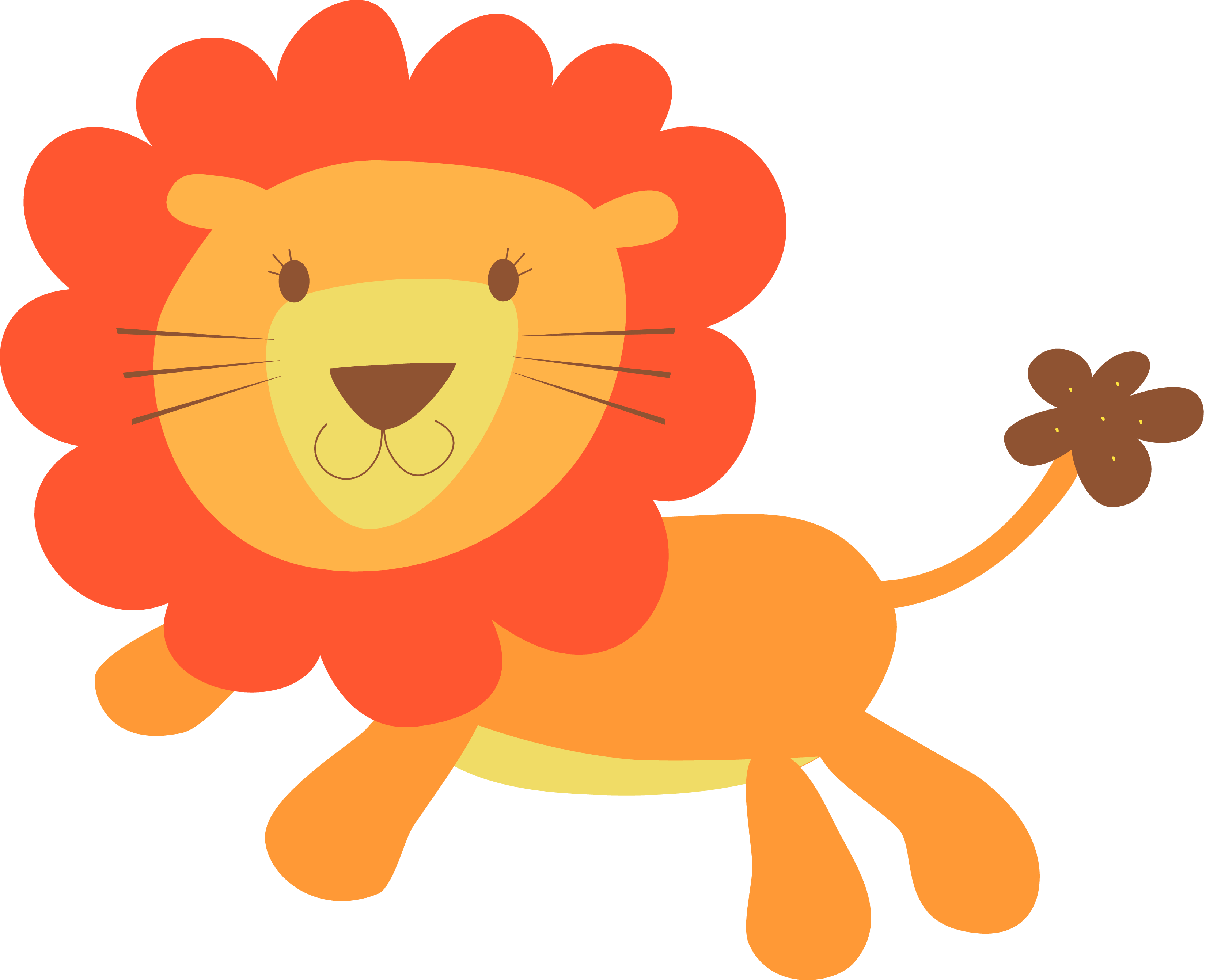 svg transparent stock Lion clipart christmas. Smiling png w panda.