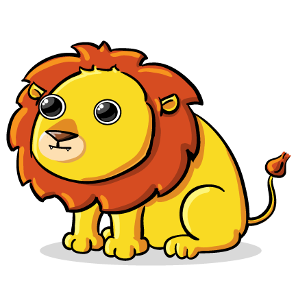svg free download Lion clipart cute. This clip art is.