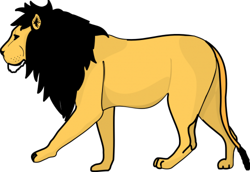 png library download One isolated stock photo. Lion clipart drinking water.