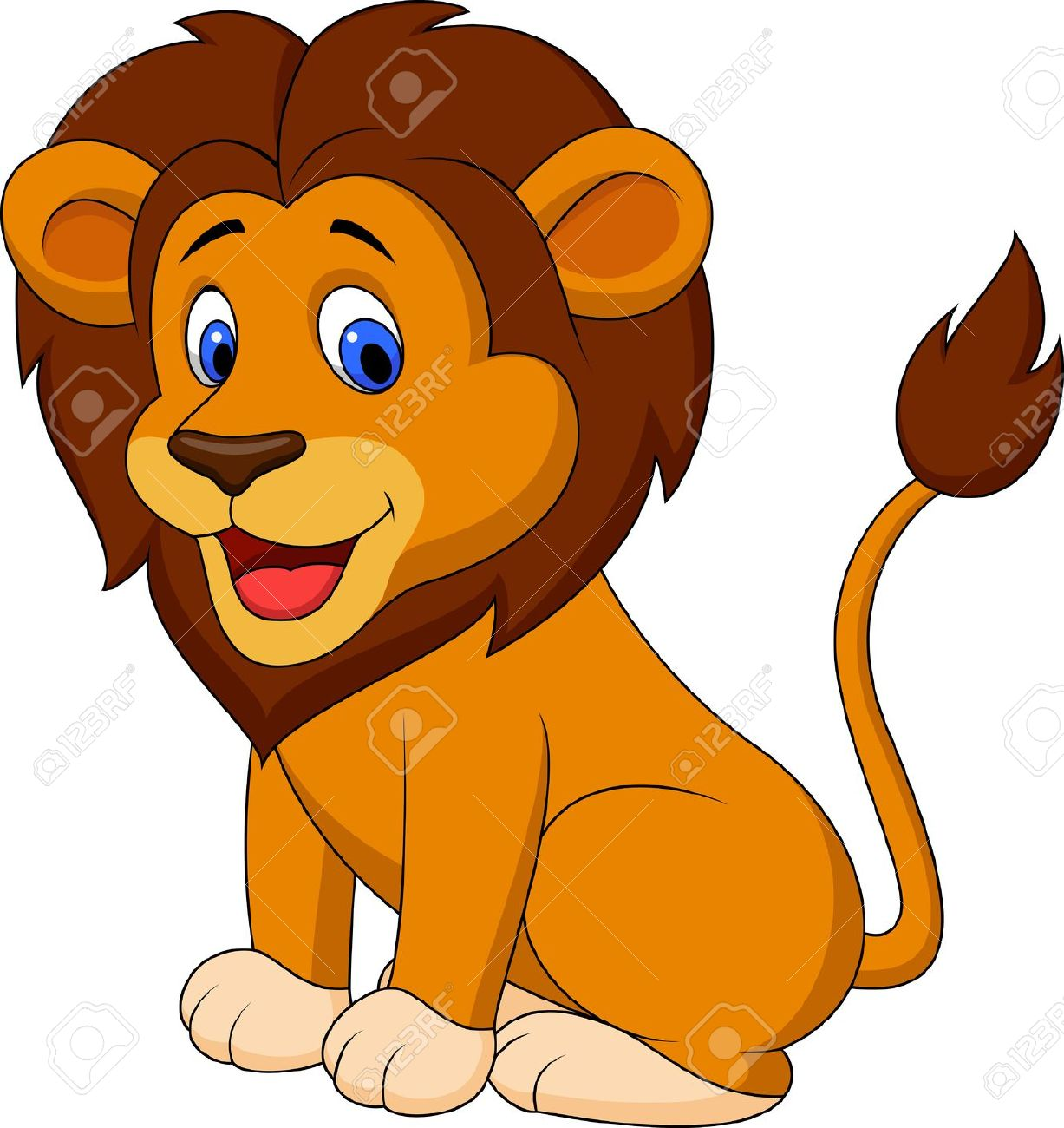 png stock Lion clipart for kids. Free download best