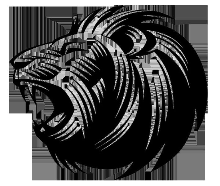 picture freeuse download S roar silhouette clip. Lion roaring clipart.