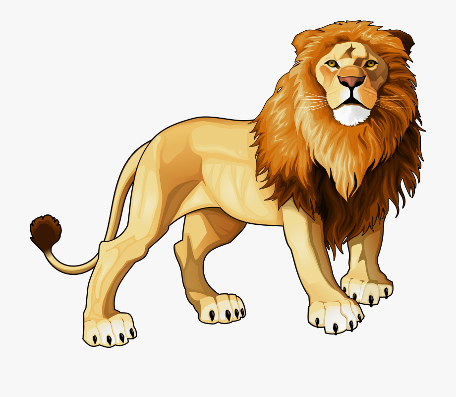 graphic black and white library Lion png free cliparts. Lions clipart.
