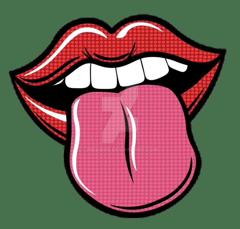 banner library library Lip clipart pop art. Of lips lipstutorial org.