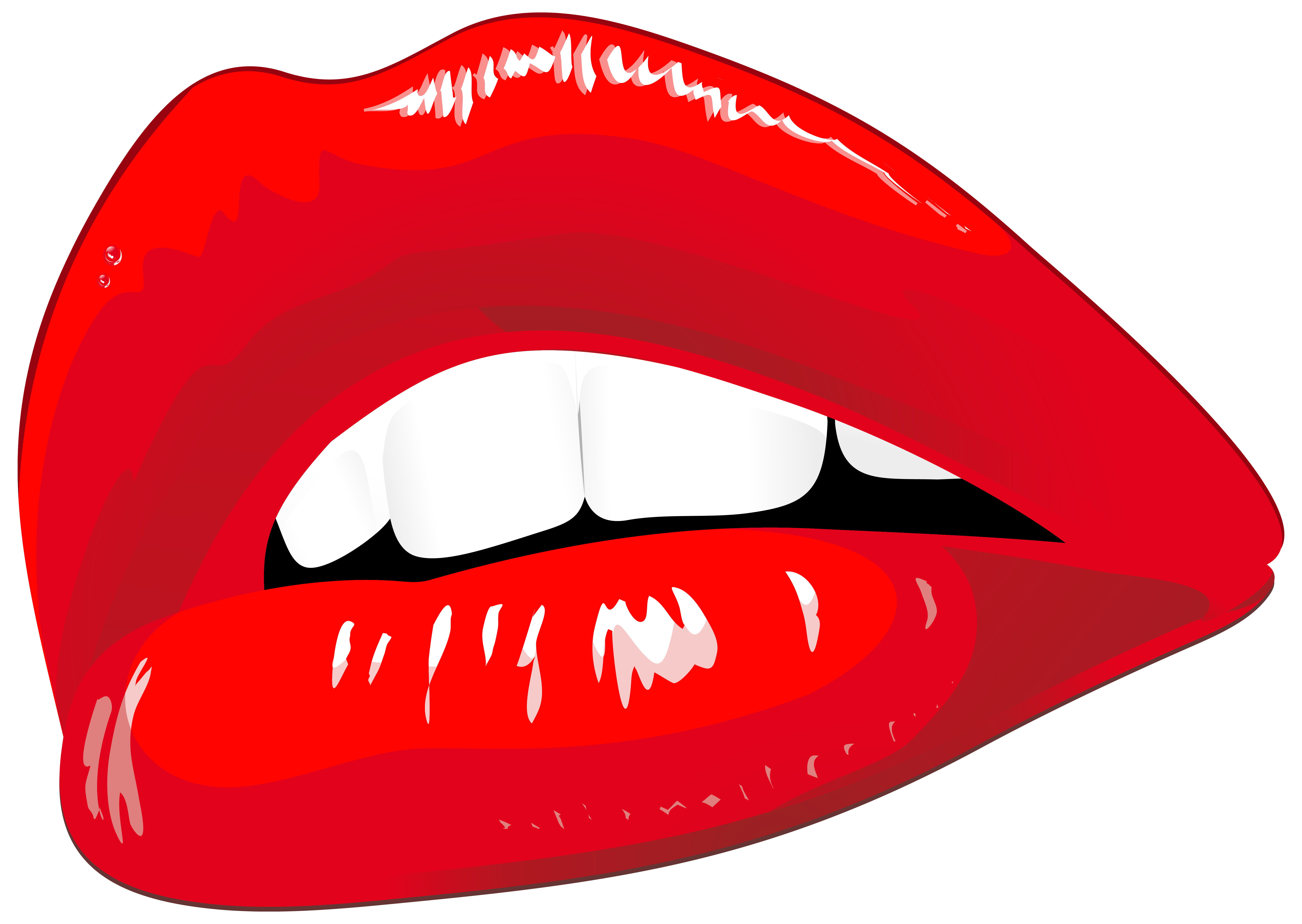 clipart transparent Lips coral free on. Lip clipart pop art.