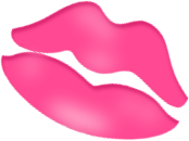 free Lip clipart valentines. Whimsical heart clip art.