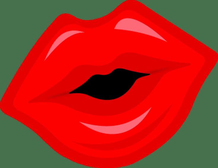 clip free download  free clip art. Lip clipart valentines.