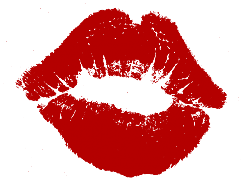 clipart black and white download Lips kiss clipart. Png free images toppng