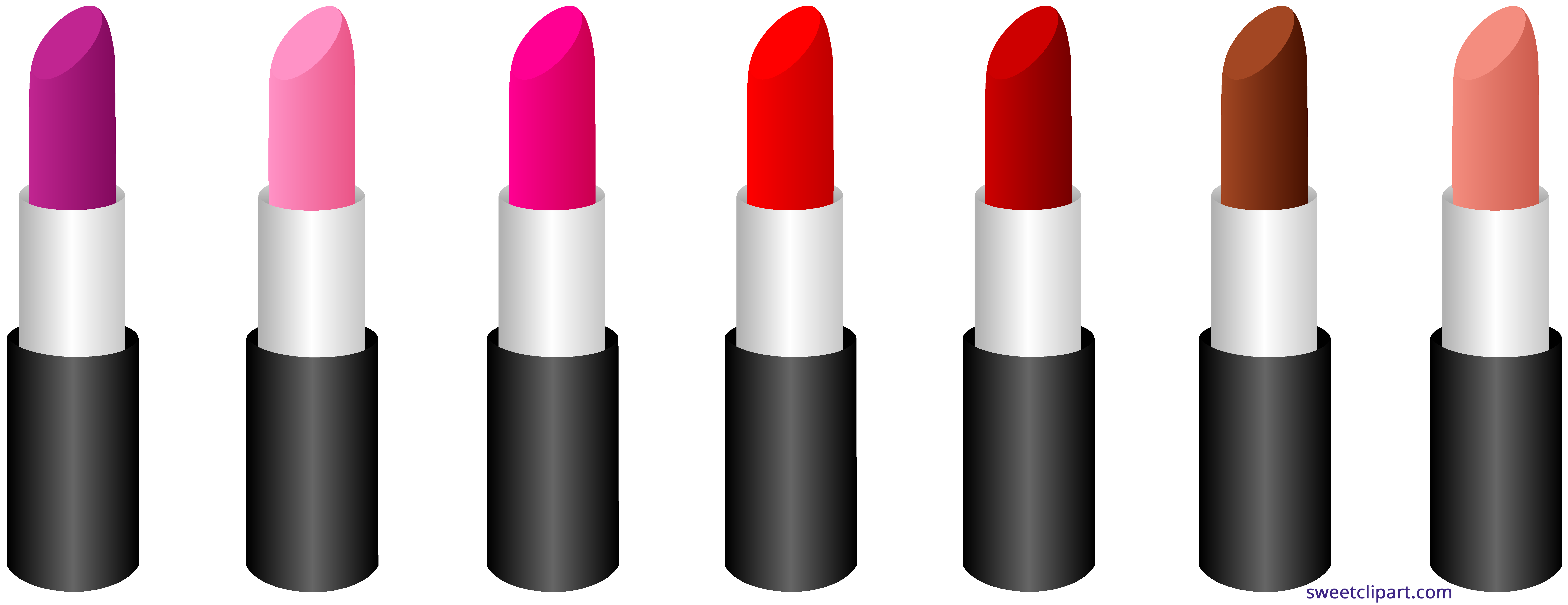 jpg freeuse library Lipstick clipart. Colorful free on dumielauxepices