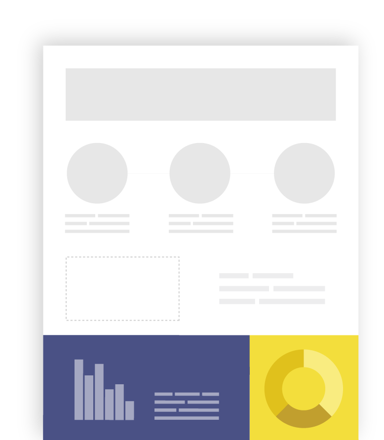 vector freeuse stock Make free infographics reports. Vector chart infographic