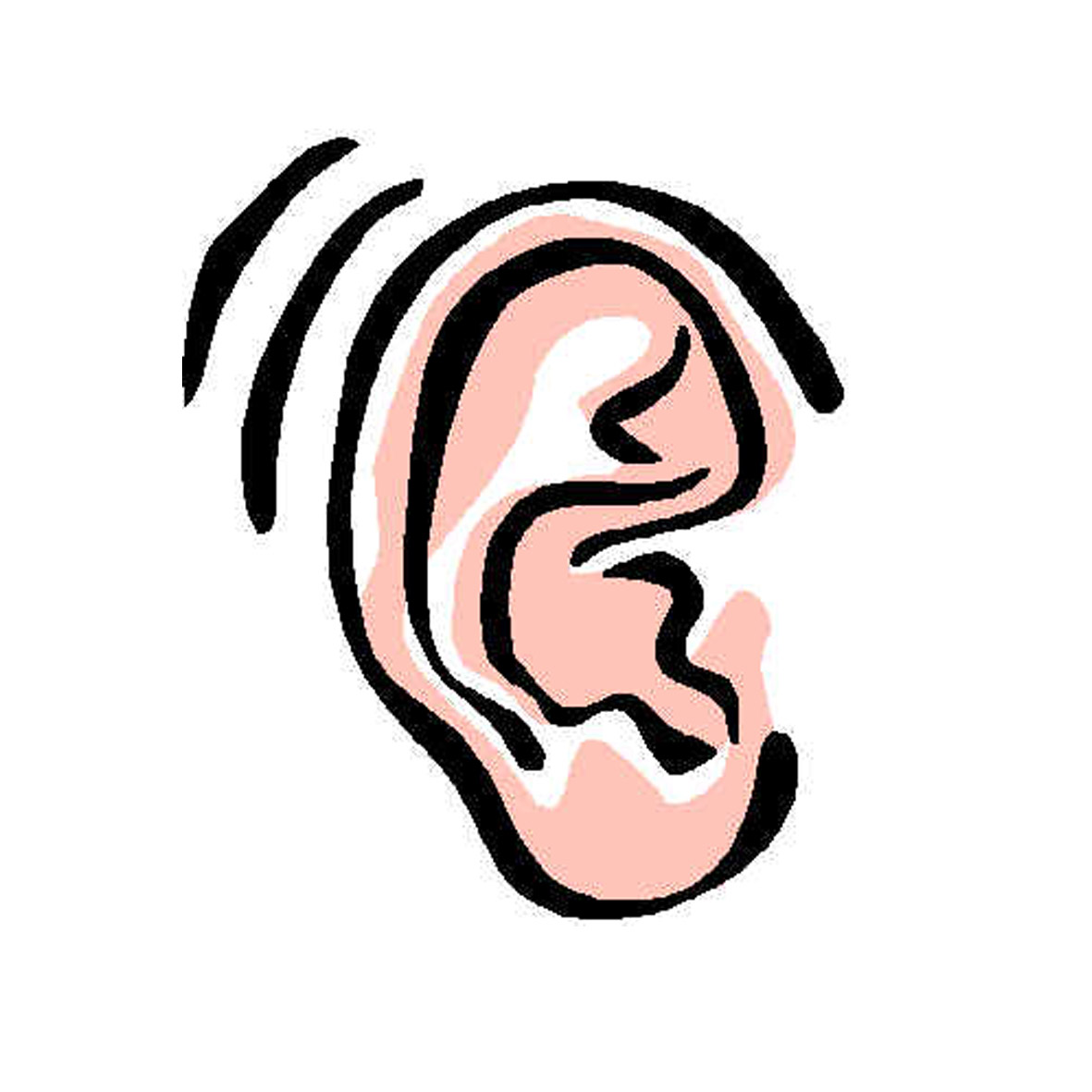 vector library stock Active clip art library. Listening clipart