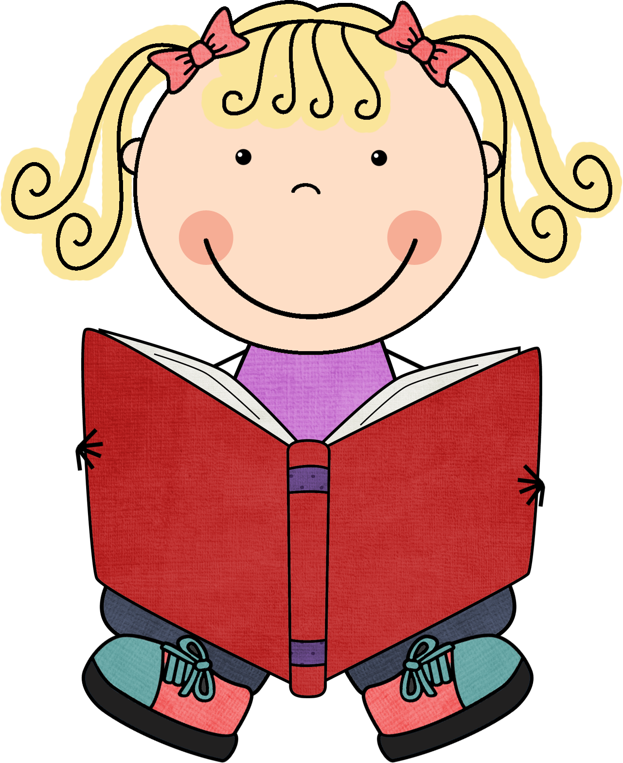 picture library stock The teacher organizer book. Literacy clipart