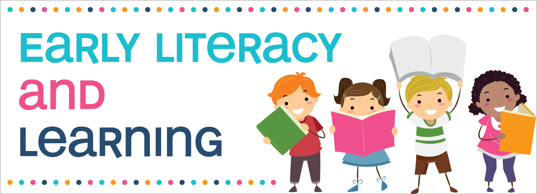 library Literacy clipart emergent literacy. Early learning traverse area.