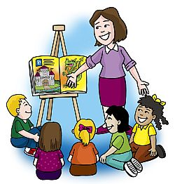 png library download Reading to free download. Teacher students clipart