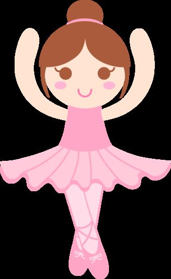 clip Cute Ballerina Clip Art