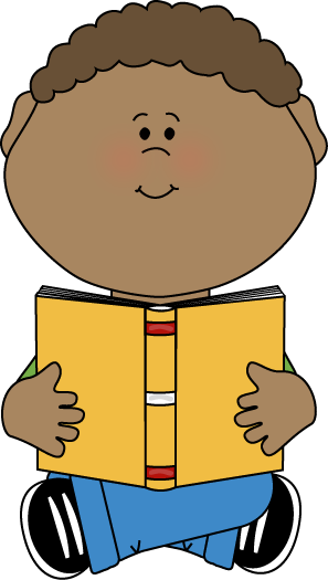 image transparent stock Boy with book teaching. Little clipart baby sitting.