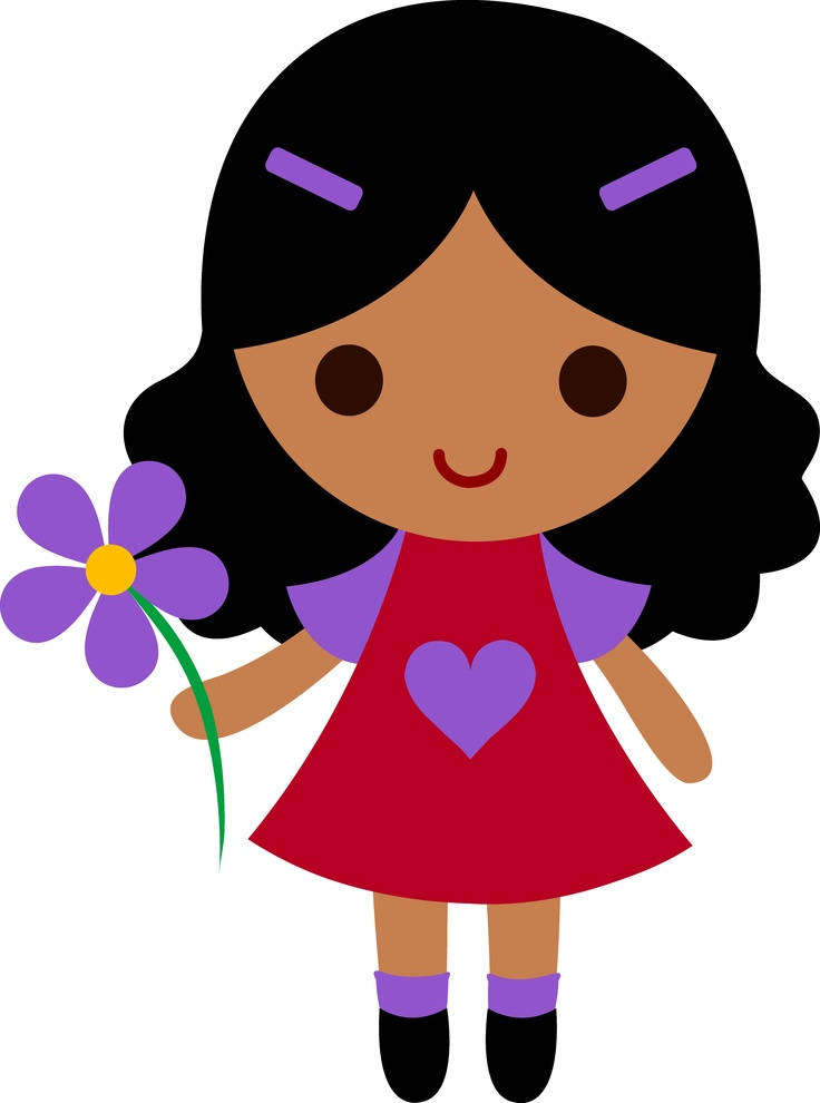 jpg library download Little clipart gir. Free girl download clip.