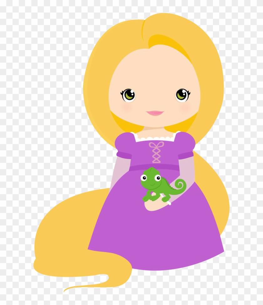 jpg freeuse library Disney princess baby . Little clipart rapunzel.