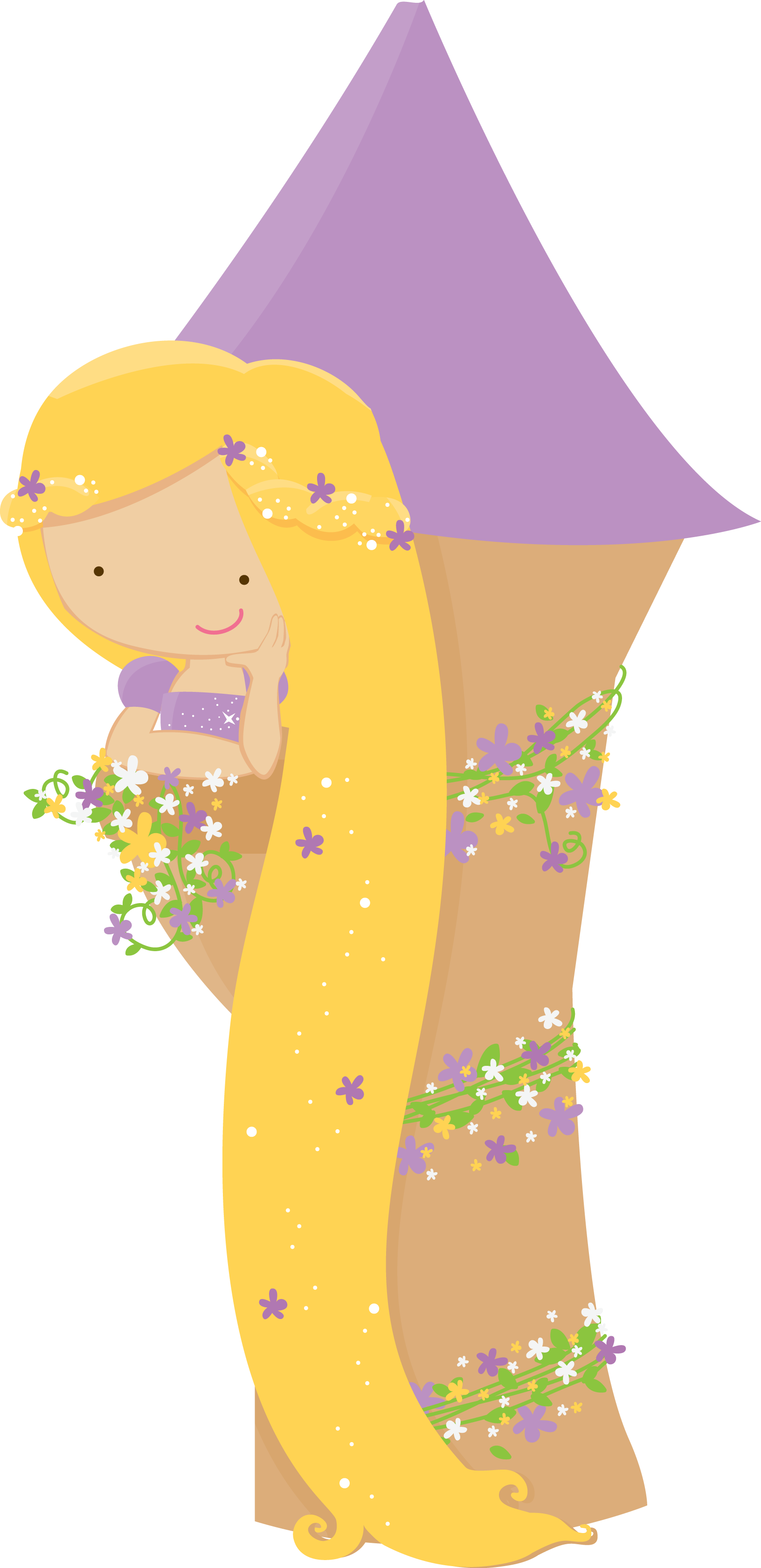 image stock Little clipart rapunzel. Pin by lisa di.