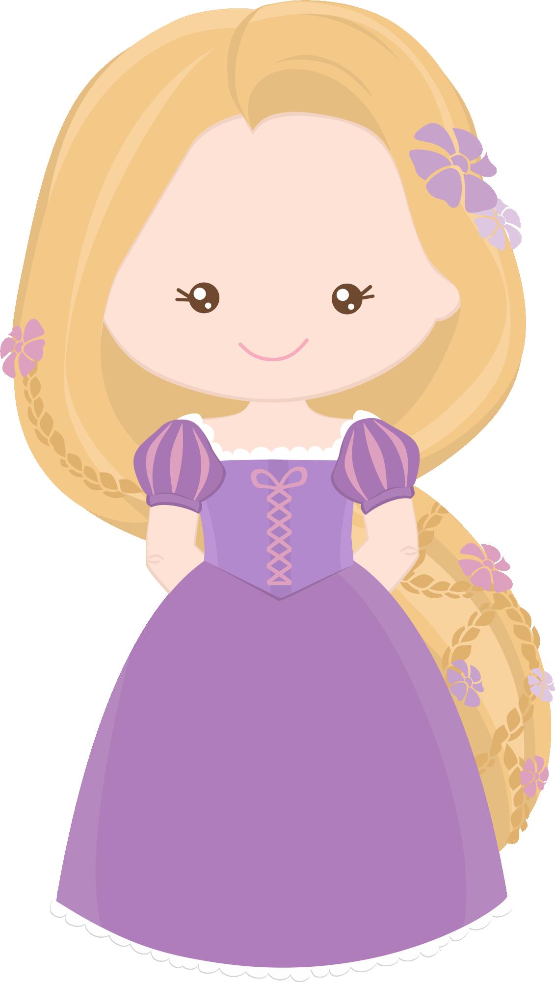 image free library Little clipart rapunzel. Princess e grafos littleprincess.
