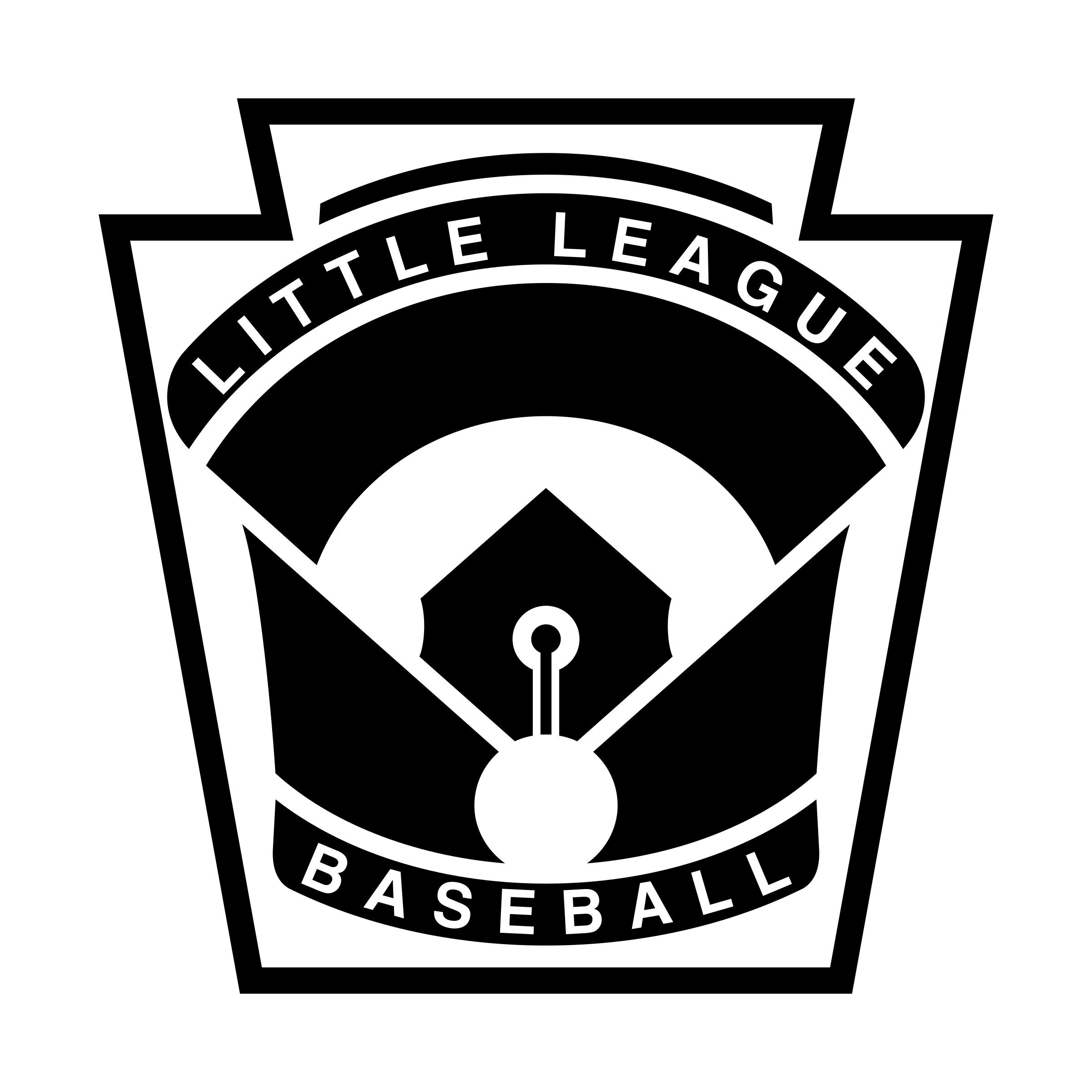image transparent download Vector emblem baseball. Little league logo png