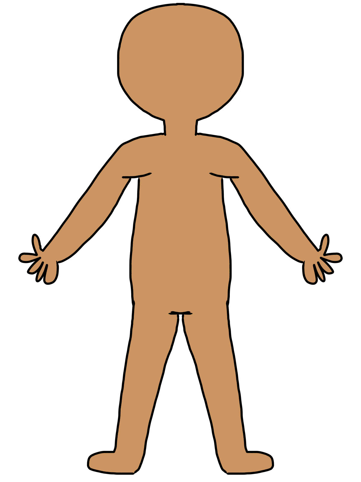 vector royalty free library Liver clipart body clipart. The human for kids.