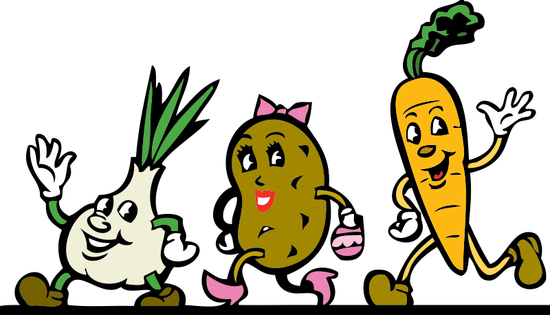 vector freeuse library Happy birthday friend clipart. Clipartlord vegetable friends png