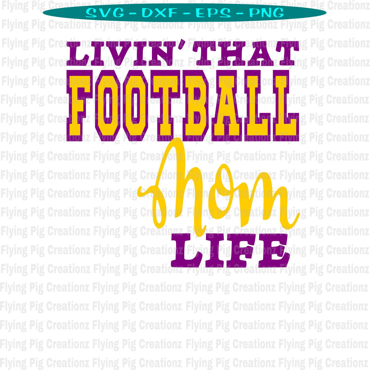 png freeuse download Living clipart mascot. Livin that football mom.