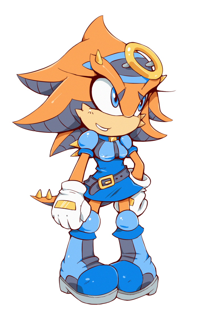 graphic library library Lizard clipart female. Sonic legacy ark the.