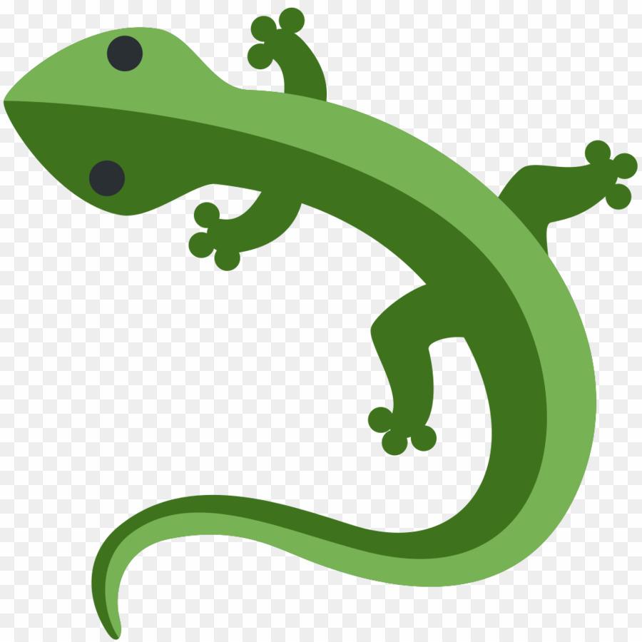 transparent Lizard clipart lizzard. Twitter emoji png download.