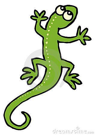 clip royalty free Free cartoon gecko clip. Lizard clipart lizzard.