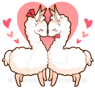 svg transparent download Love llamas by yampuff. Llama clipart adorable.