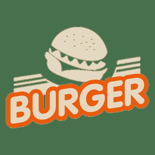 svg Vector burger design. Logo transparent png svg
