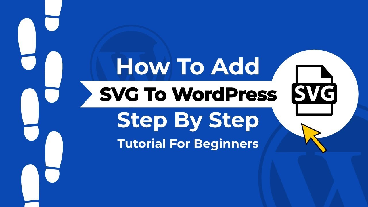 svg black and white library In how to add. Using svg wordpress