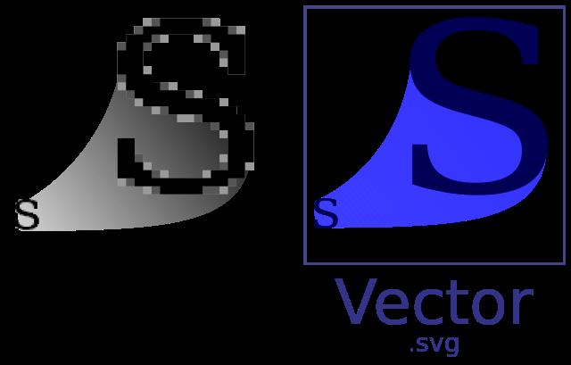 image transparent download Vector defintion raster. Vs