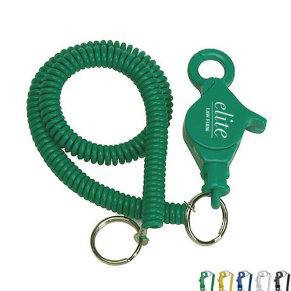 jpg download Lobster Clip Coil Keyring