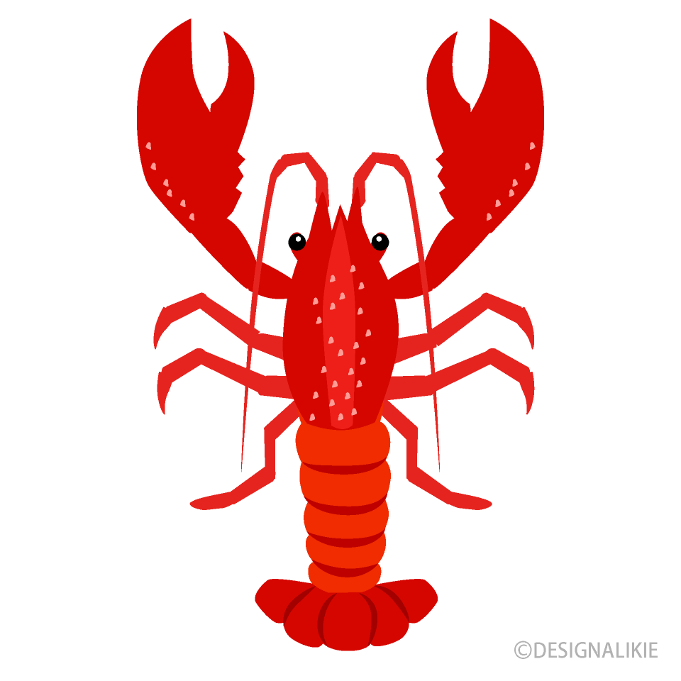 black and white download Simple free picture illustoon. Lobster clipart.