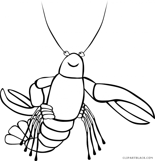 png freeuse Lobster clipart black and white. Page of clipartblack com