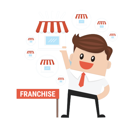 svg black and white library Location clipart franchise