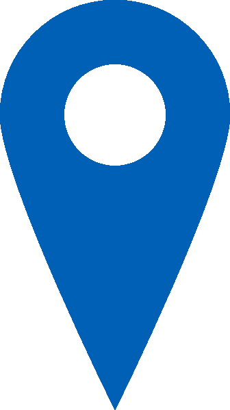 image royalty free library Blue Location Icon